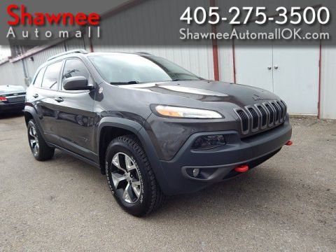 Pre-Owned 2016 JEEP CHEROKEE TRAILHAWK Four Wheel Drive UT
