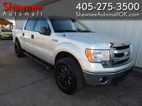 Pre-Owned 2014 FORD F150 SUPERCREW XLT 4X4 PK