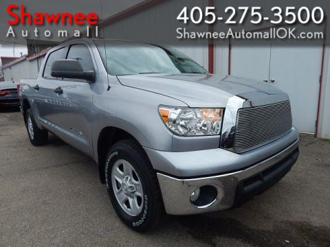 Pre-Owned 2012 TOYOTA TUNDRA CREWMAX SR5 Rear Wheel Drive PK